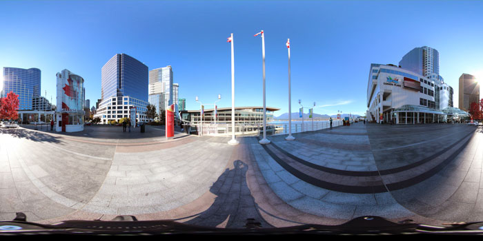 Canada Place 360 Narrated Virtual Tour with Hotspots in HTML5