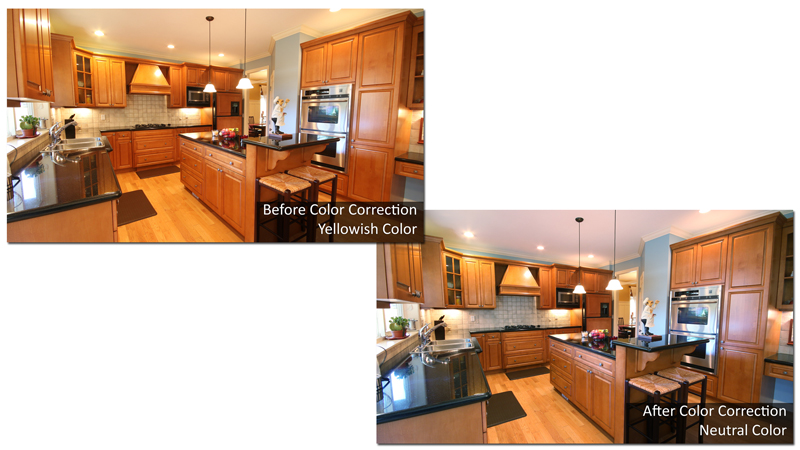 Real Estate Color Correction