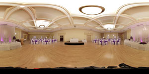 360 Virtual Tour of Roma Hall with hotspots (HTML5/Flash)