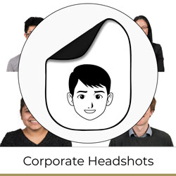 Corporate Headshots Portraits for Businesses